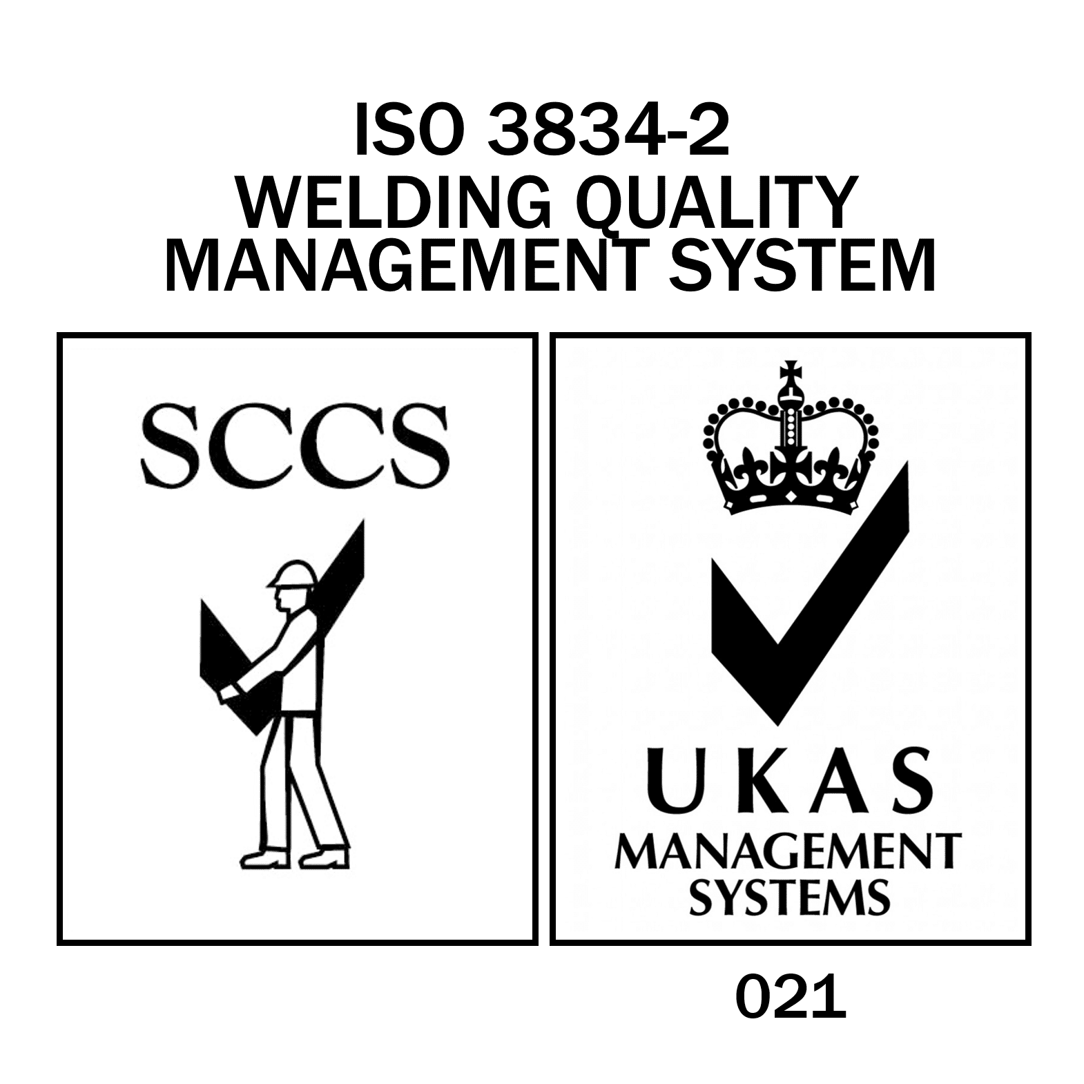 UKAS 3834 Logo
