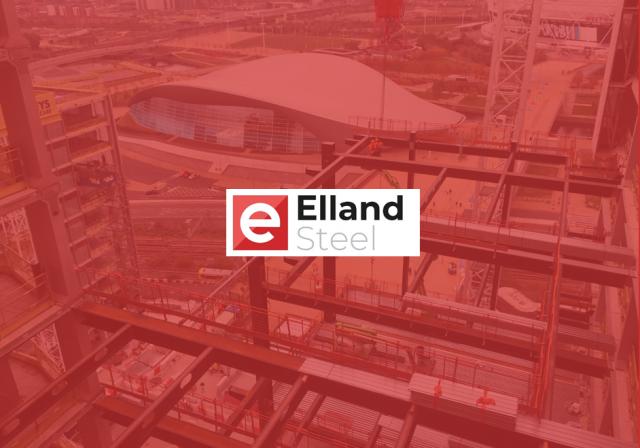 Elland Steel logo on top of TIQ